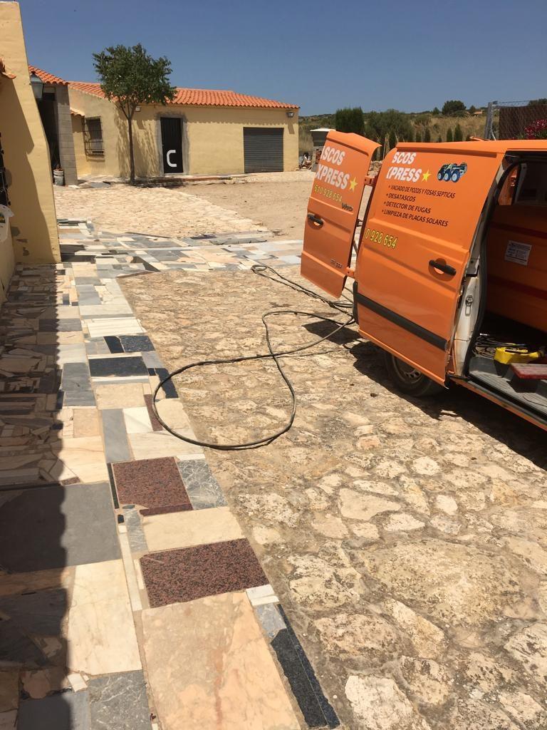 limpieza de fosas septicas Alicante